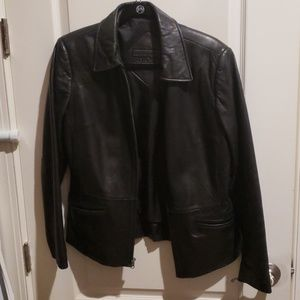 Size small Preston and york leather coat